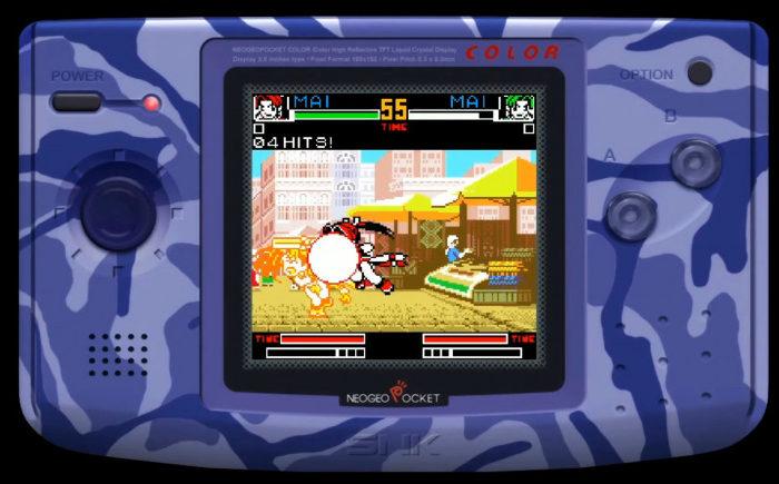 ¡El renacer de Neo Geo Pocket! The King of Fighters R-2 llegara a Nintendo Switch