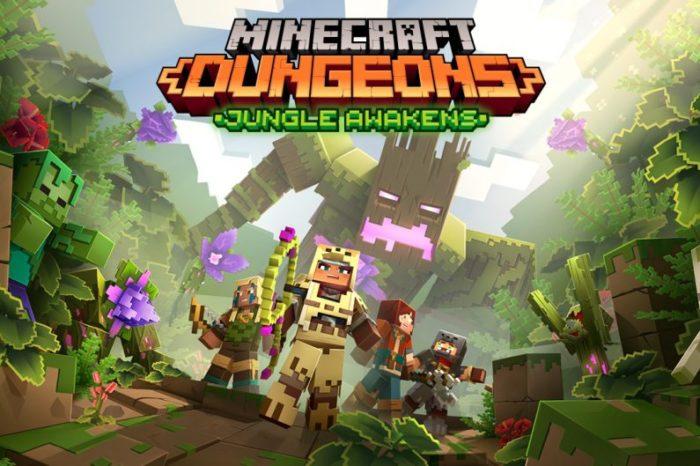 El primer DLC de Minecraft Dungeons llegara la proxima semana