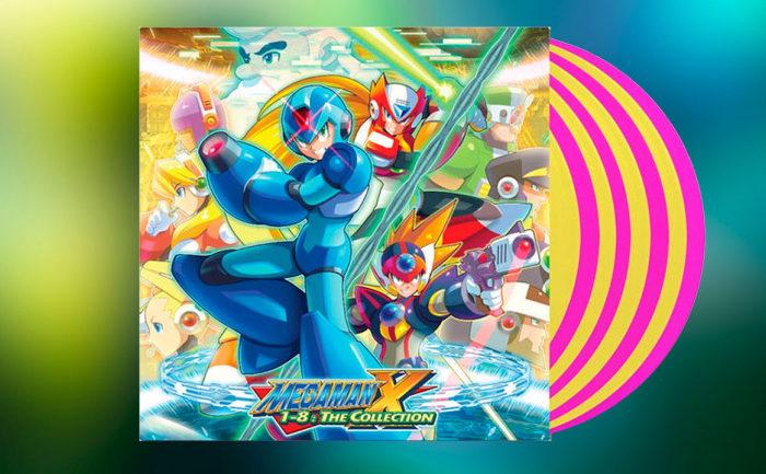 Mega Man presenta una coleccion de vinilos de lujo con los temas principales de la saga de Capcom