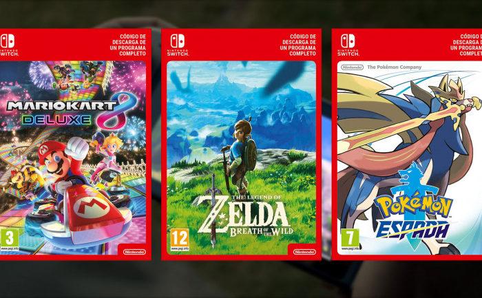 Nintendo dejara de vender codigos de descarga digital para sus juegos en las tiendas europeas