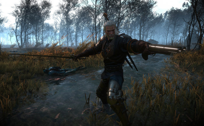The Witcher 3 tiene un nuevo mod que te permite luchar con armas de fuego