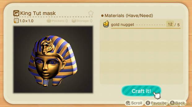 La nueva actualizacion de Animal Crossing: New Horizons incluye varias funciones ocultas