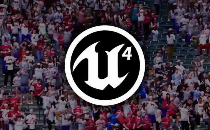 Unreal Engine sirve para todo, tambien para crear publico virtual en eventos deportivos