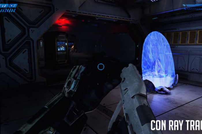 El veterano Halo Combat Evolved se ve genial con raytracing, pero te advertimos que es algo forzado