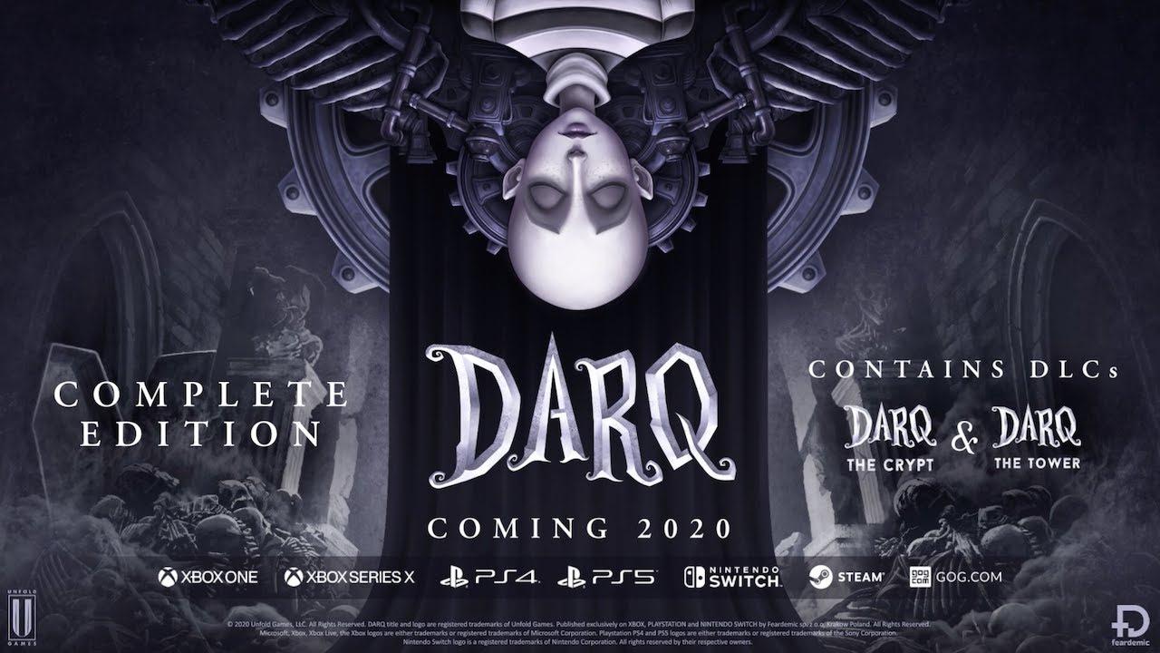 DARQ y su terror psicologico anuncian su lanzamiento en consolas de actual y nueva generacion