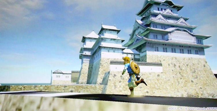 Una fase previa de Zelda: Breath of the Wild tenia mecanicas de vuelo y edificios de Kioto