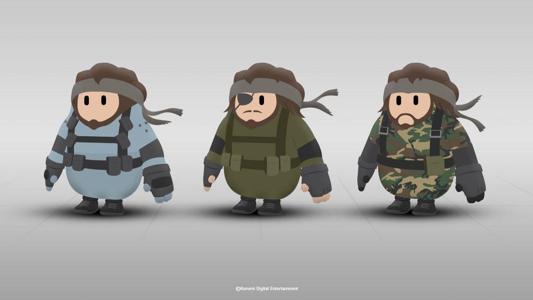 Konami crea unos trajes de Metal Gear para Fall Guys, el juego de moda