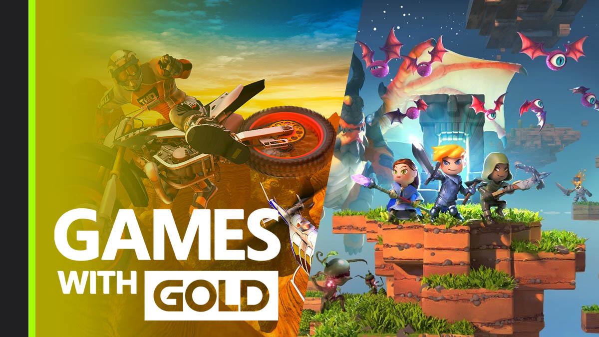 Disponibles los primeros Games with Gold de agosto