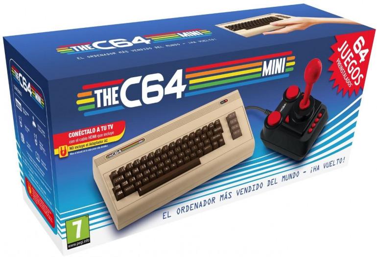 El recuerdo dejado por Commodore 64 le hizo valedor de un dispositivo mini estrenado hace poco.