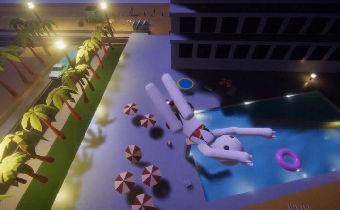 ¿Os apetece saltar a la piscina desde el quinto piso? Balconing Simulator 2020 se sumerge en Steam