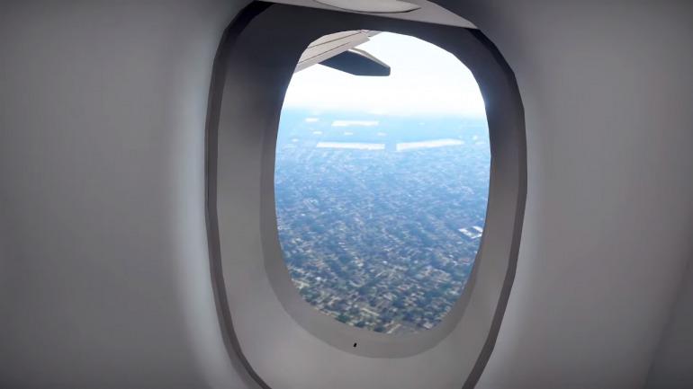 ¿Los simuladores de vuelo no son para ti? En este juego solo tendrás que sentarte y disfrutar del viaje