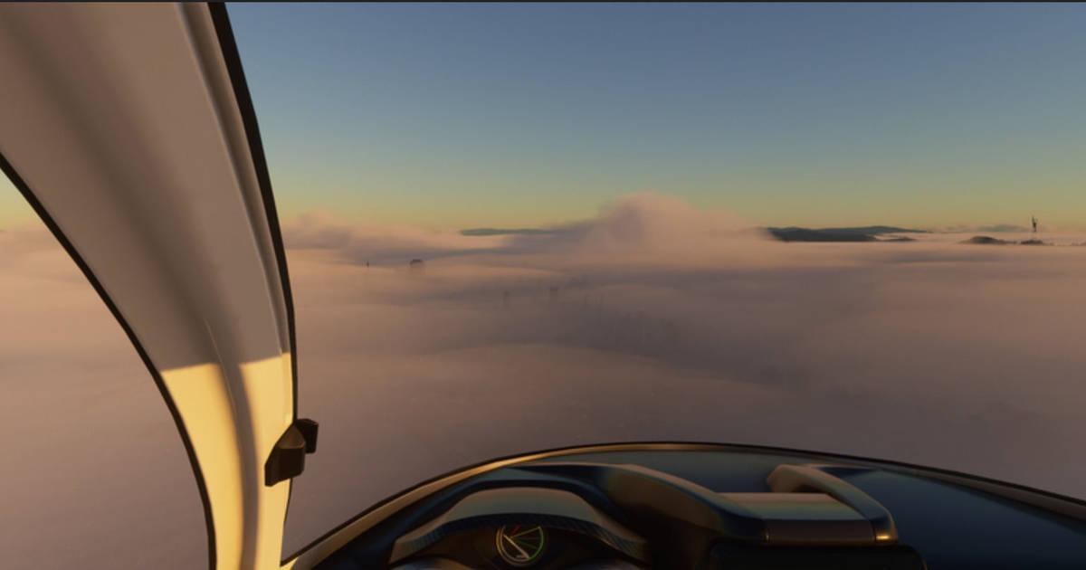 Jugadores sobrevuelan los incendios de la costa de EE.UU. en Microsoft Flight Simulator