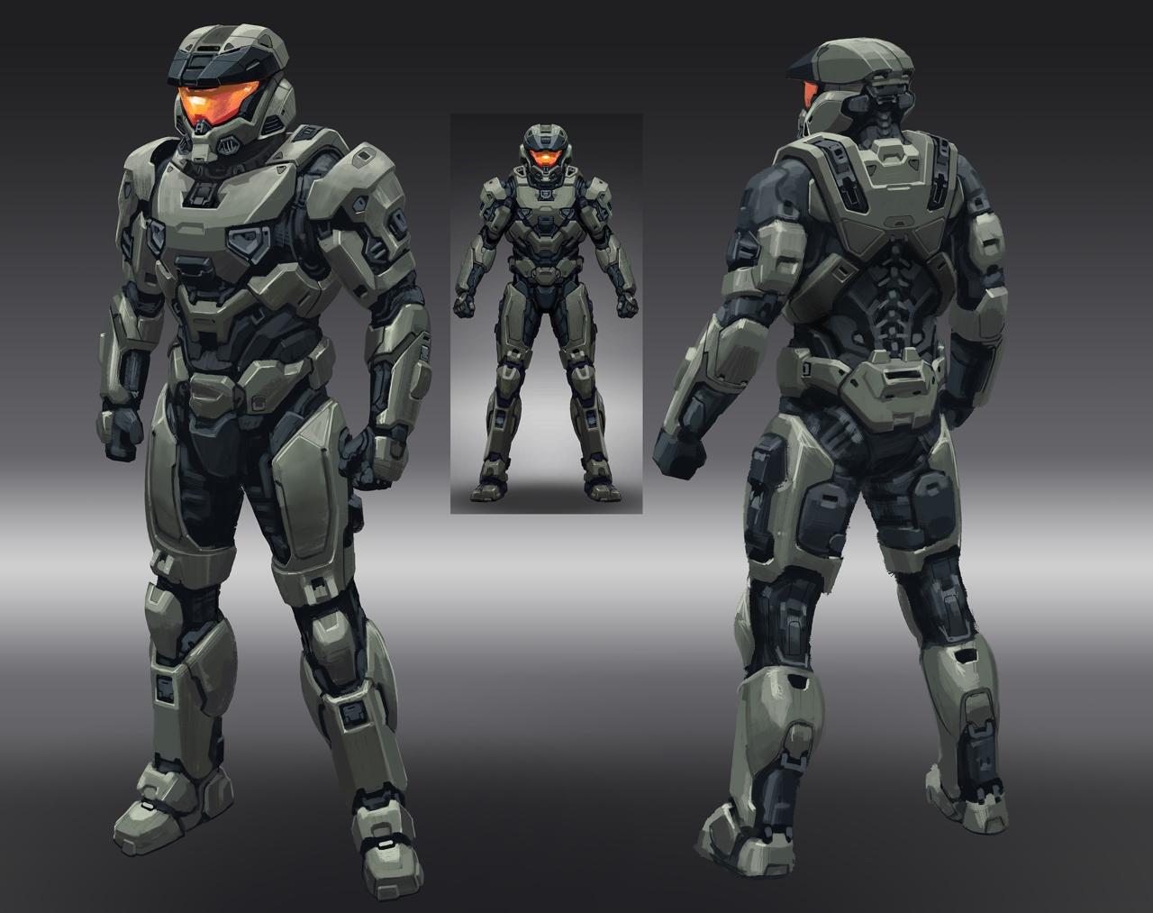 Desvelado un nuevo enemigo de Halo Infinite y el diseño de la Mark VII