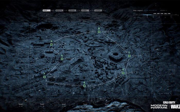 Asi funcionara el metro de Verdansk en Call of Duty Warzone