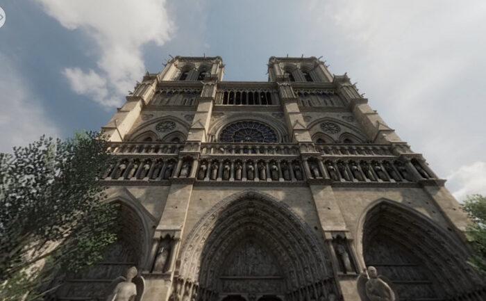 Ubisoft nos invita a visitar la Catedral de Notre Dame de forma totalmente gratuita en realidad virtual