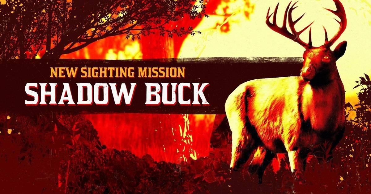 Red Dead Online: Avistamos al ciervo sombrio legendario, junto con bonificaciones y mas