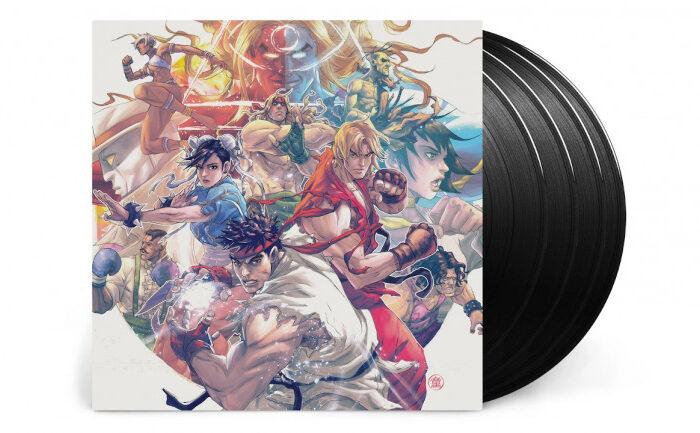 La musica de Street Fighter 3 reunida en un vinilo especial con un diseño que enamorara a los fans
