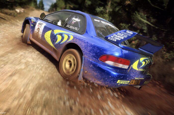 La leccion de pilotaje rally de Patrik Sandell