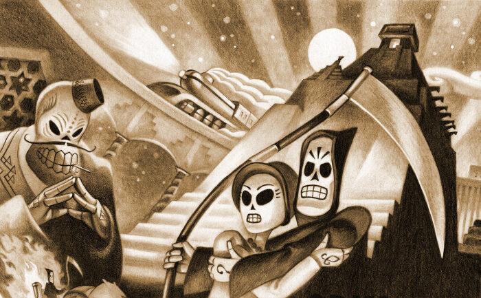 Grim Fandango Remastered y dos clasicos mas de LucasArts llegaran a Xbox Game Pass