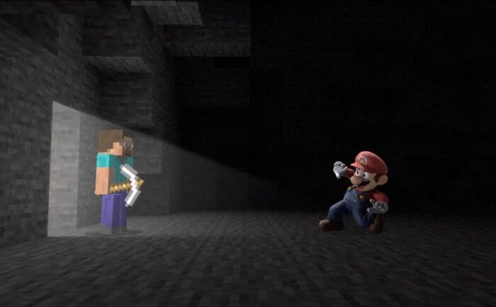 Minecraft en Super Smash Bros Ultimate, una relacion que empezo a fraguarse hace cinco años